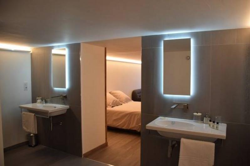 Location de vacances - Chambre d'hôtes à Réauville - Suite côté Piscine
