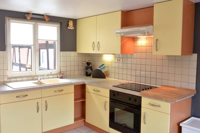 Location de vacances - Appartement à Eguisheim - la cuisine