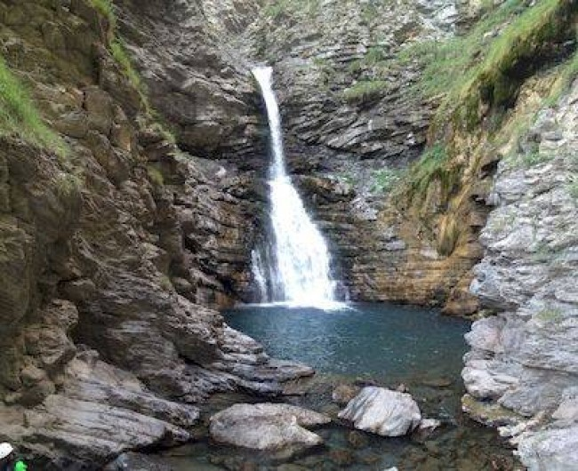 Location de vacances - Villa à Thueyts - randonnée a prévoir cascades du Ray Pic a BURZET