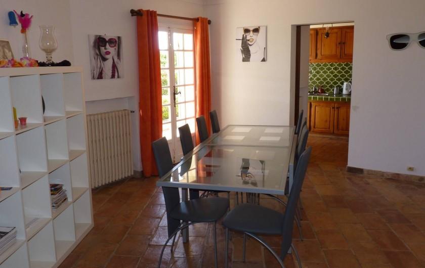 Location de vacances - Villa à Gassin - Salle à manger