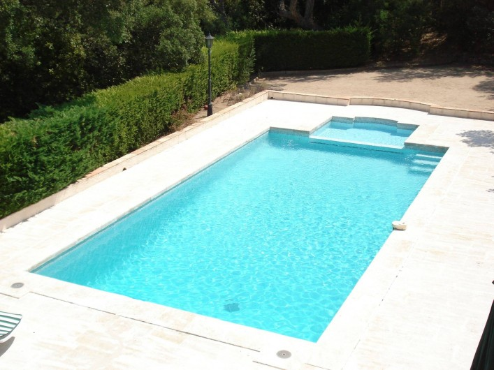 Location de vacances - Villa à Gassin - Piscine