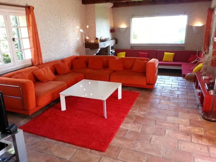 Location de vacances - Villa à Gassin - Salon