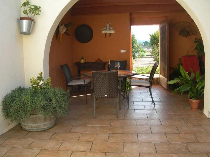 Location de vacances - Gîte à Puigdàlber - patio