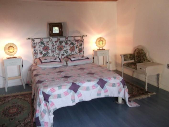 Location de vacances - Appartement à Grignan - Chambre 2 , lit en 140