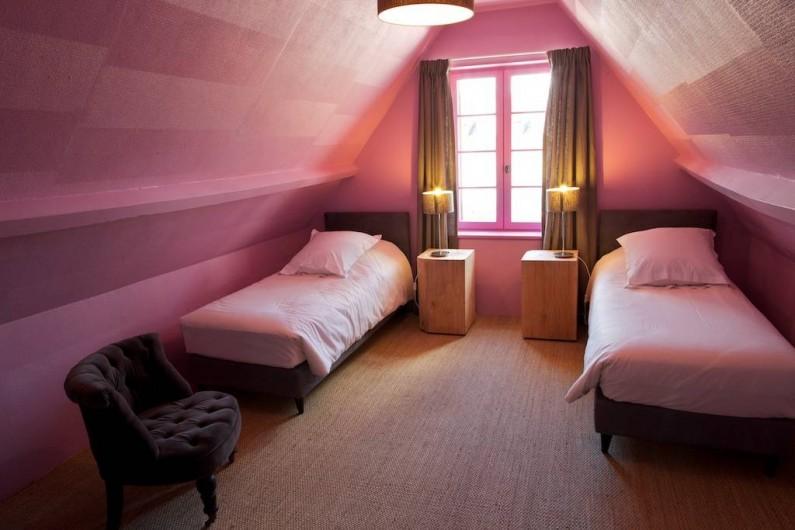 Location de vacances - Gîte à Chambord - Gîte Salamandre - chambre avec lits jumeaux