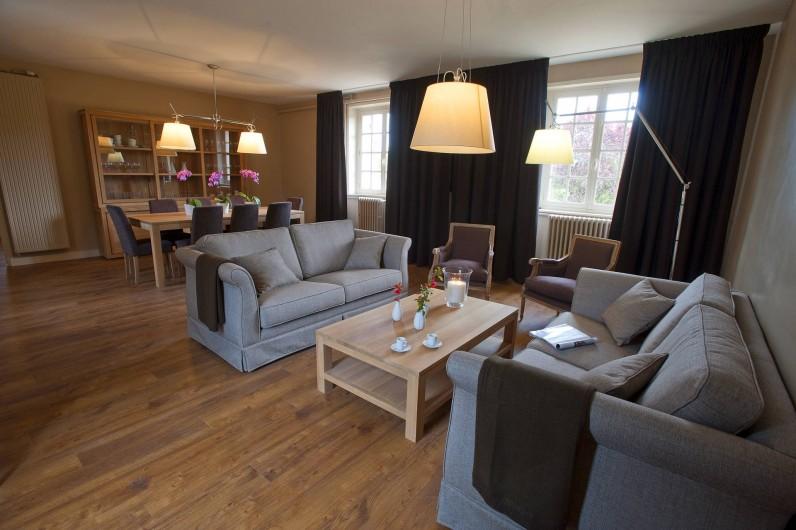 Location de vacances - Gîte à Chambord - Gîte Salamandre - espace salon + salle à manger