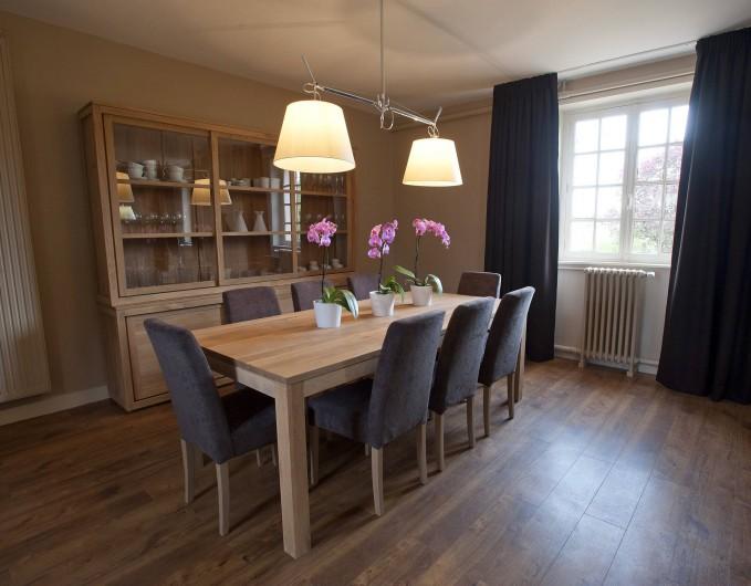 Location de vacances - Gîte à Chambord - Gîte Salamandre - salle à manger
