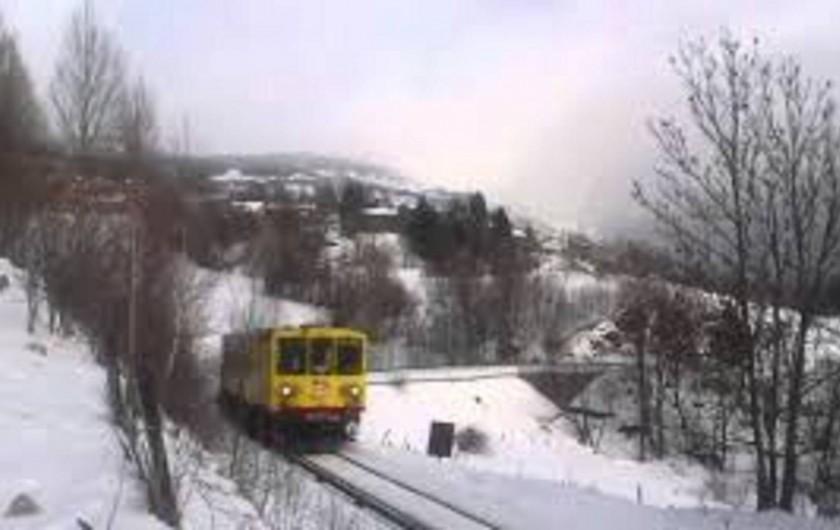 Location de vacances - Hôtel - Auberge à La Cabanasse - Train jaune