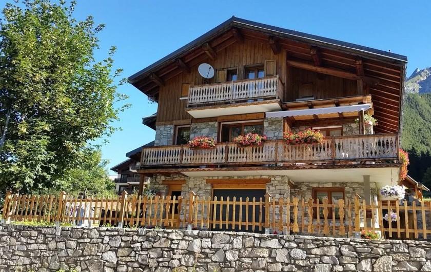 Location de vacances - Appartement à Pralognan-la-Vanoise - Face sud