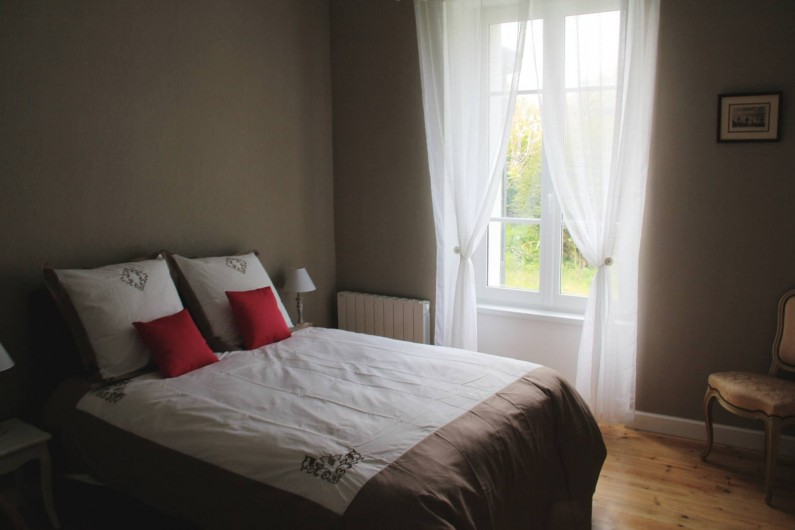 Location de vacances - Villa à Primelin - Grand séjour salon/salle-à-manger.