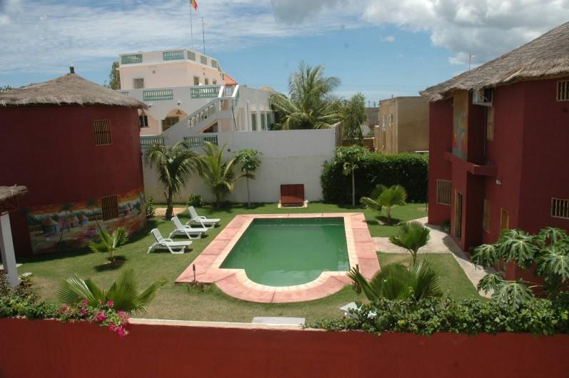 Location de vacances - Chambre d'hôtes à Saly - Vue générale de la propriété