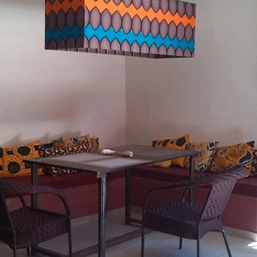 Location de vacances - Chambre d'hôtes à Saly - Coin salon