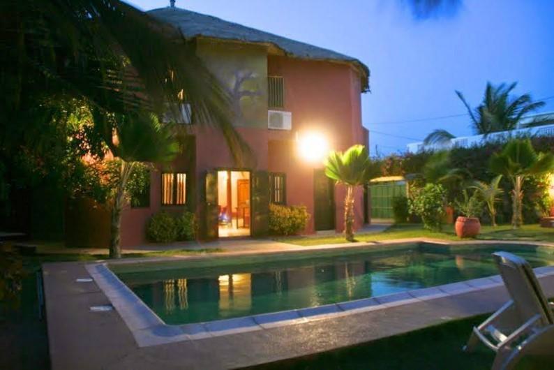 Location de vacances - Chambre d'hôtes à Saly - Maison principale
