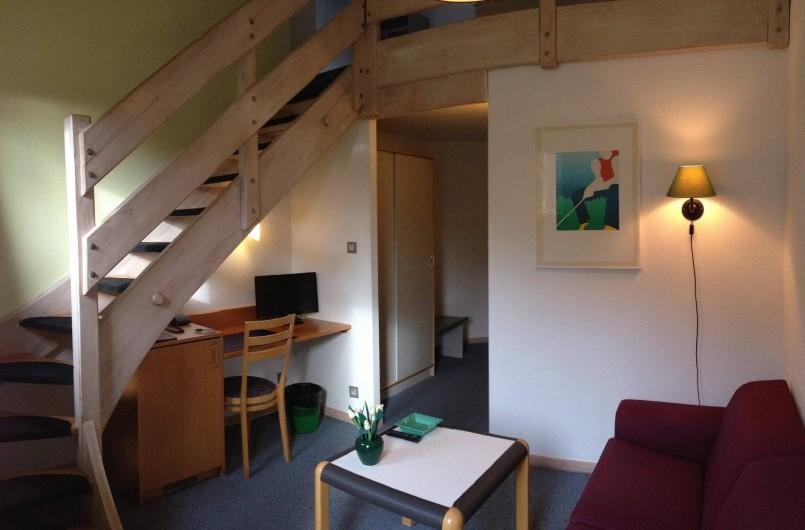 Location de vacances - Hôtel - Auberge à Husseren-les-Châteaux - Chambres en Duplex (bas)