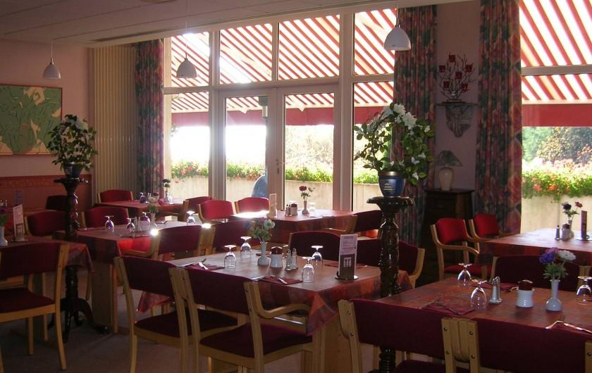 Location de vacances - Hôtel - Auberge à Husseren-les-Châteaux - Brasserie
