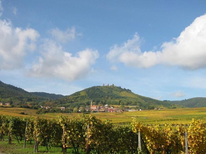 Location de vacances - Hôtel - Auberge à Husseren-les-Châteaux - Village viticole