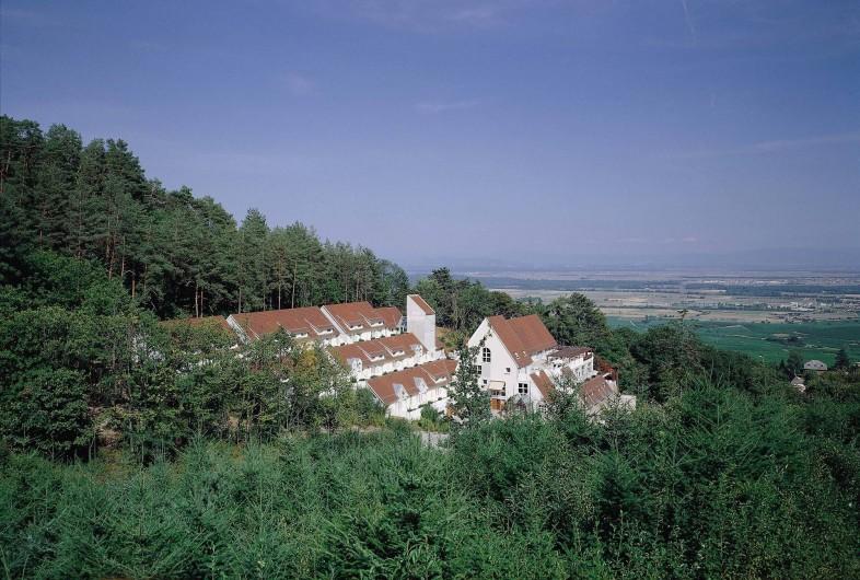 Location de vacances - Hôtel - Auberge à Husseren-les-Châteaux - L'hôtel Husseren-les-Châteaux