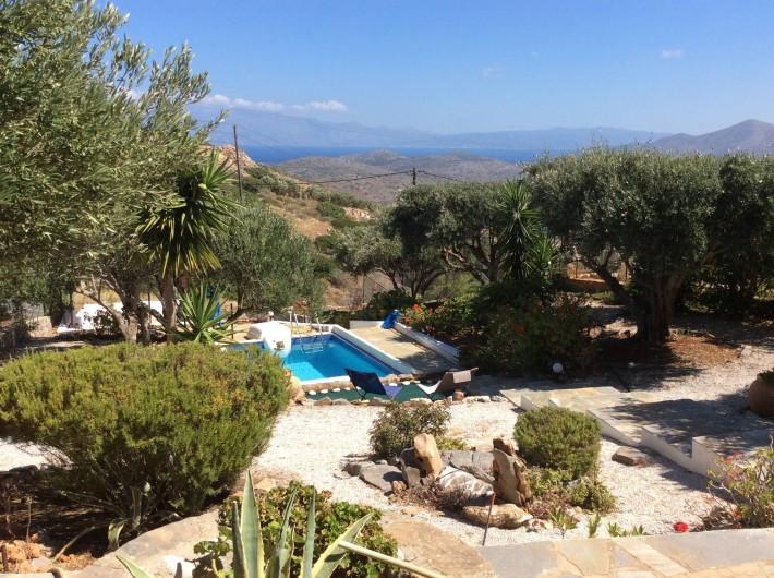 Location de vacances - Villa à Elounda - garden