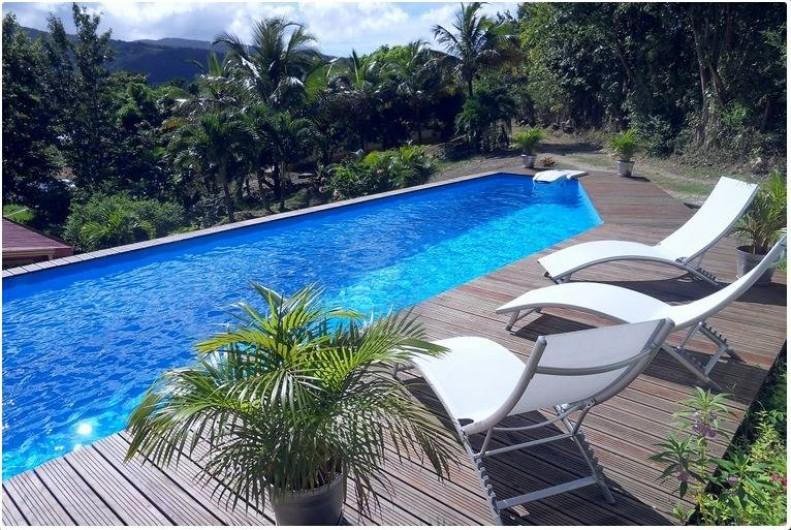 Location de vacances - Gîte à Deshaies - la piscine