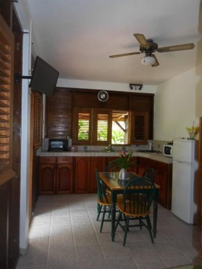 Location de vacances - Gîte à Deshaies - une partie de la cuisine