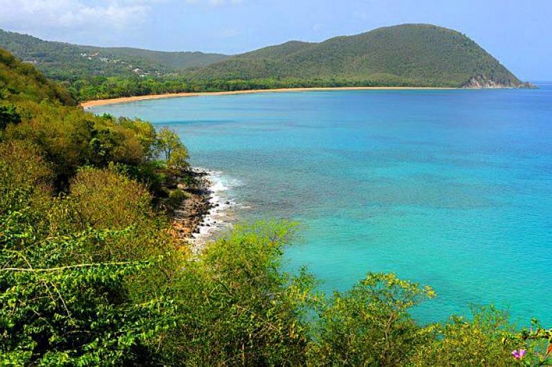 Location de vacances - Gîte à Deshaies - plage de grande-anse