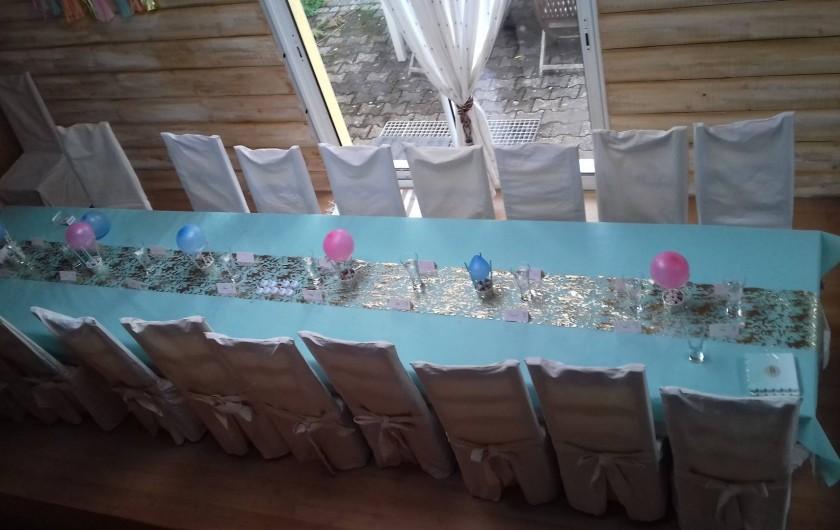 Location de vacances - Gîte à Ploumagoar - salle
