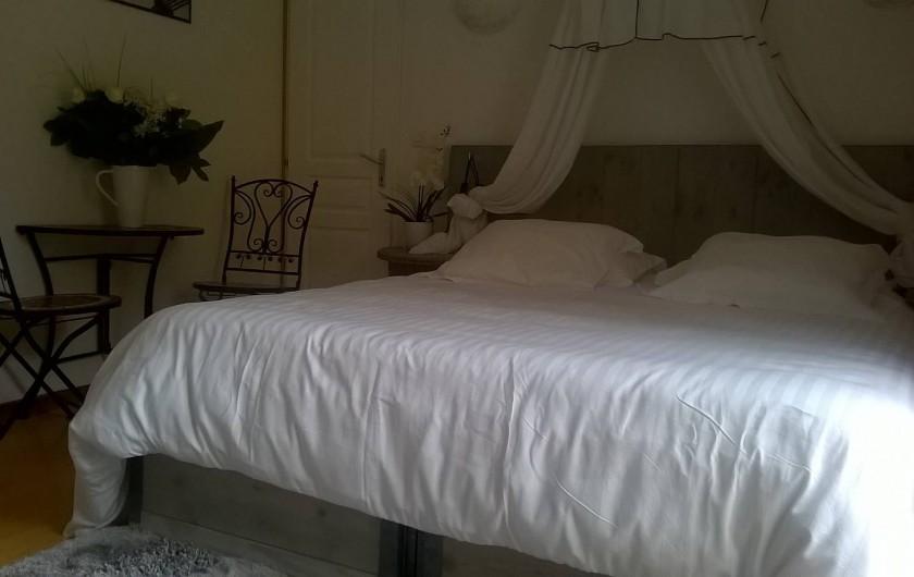 Location de vacances - Gîte à Ploumagoar - suite parentale rdc avec douche