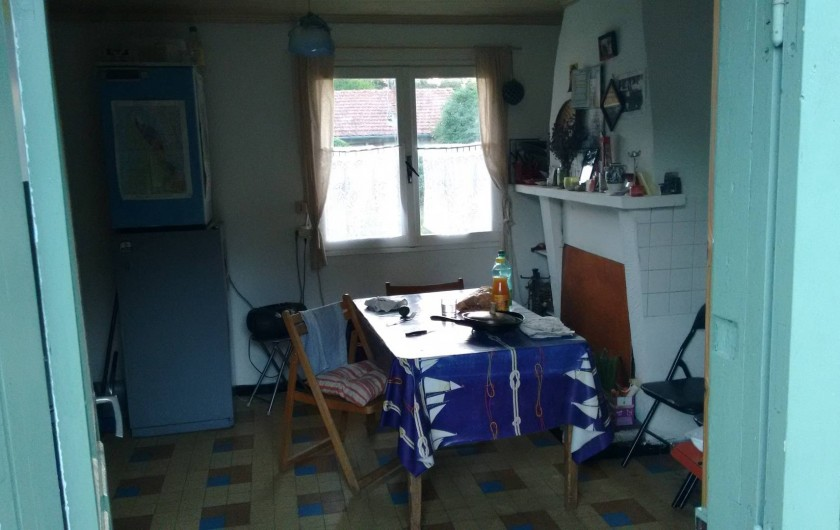 Location de vacances - Villa à Hourtin - Le séjour-cuisine