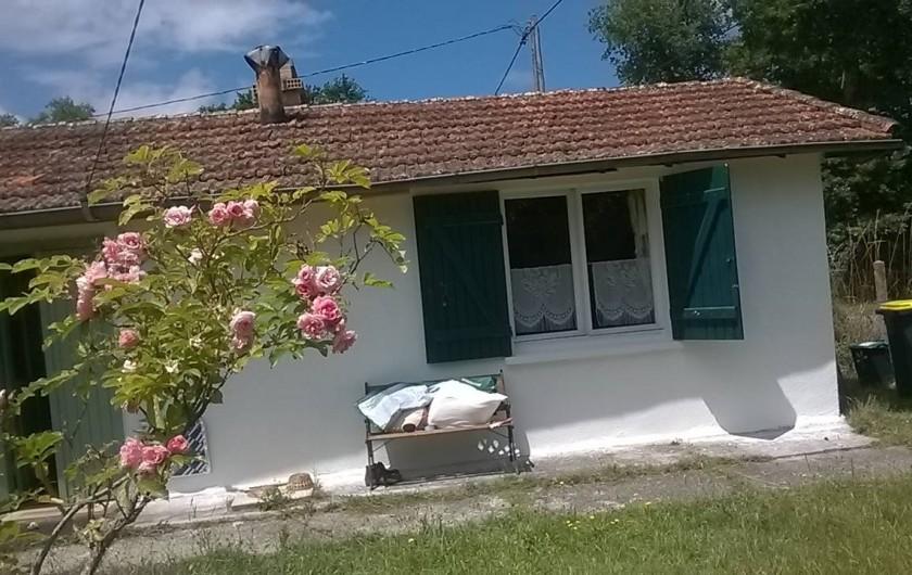 Location de vacances - Villa à Hourtin - la façade