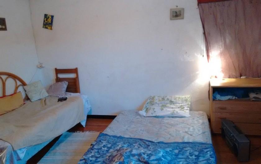 Location de vacances - Villa à Hourtin - Les deux couchages dans la petite chambre