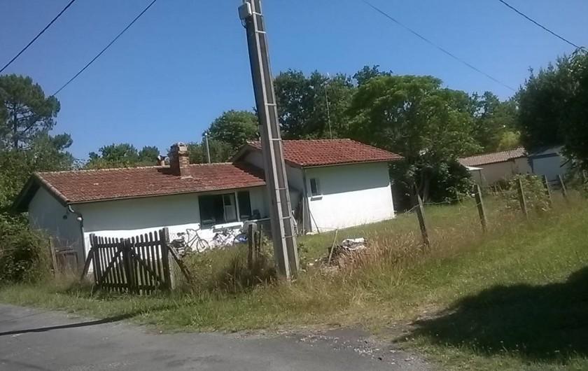 Location de vacances - Villa à Hourtin - derrière la maison
