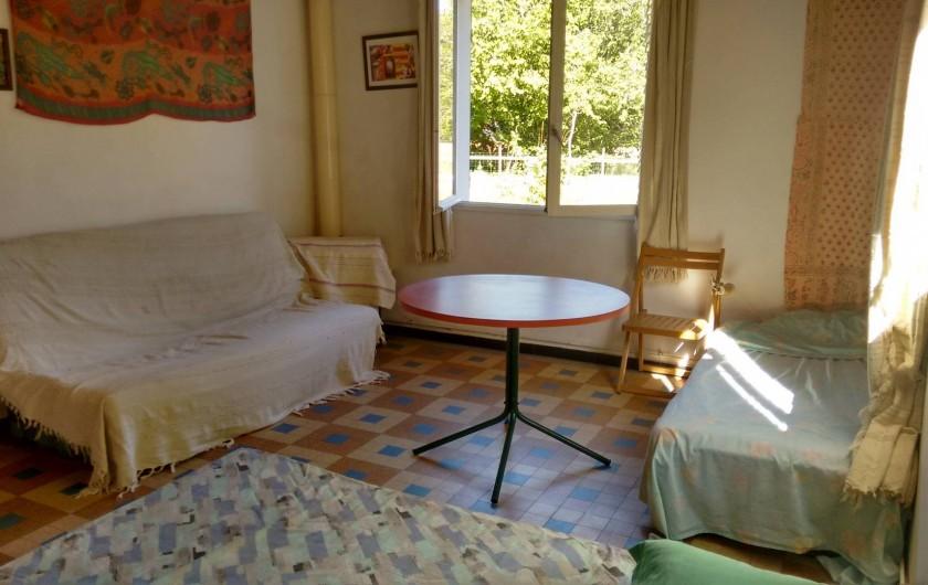 Location de vacances - Villa à Hourtin - La grande chambre