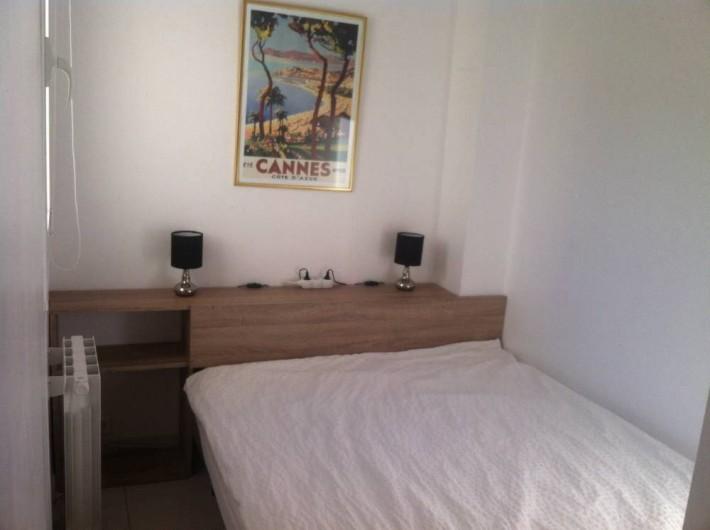 Location de vacances - Appartement à Cannes - Chambre 2