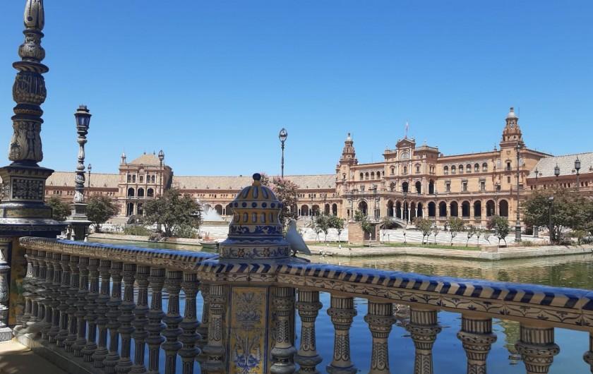 Location de vacances - Maison - Villa à Séville - place d'Espagne à Séville