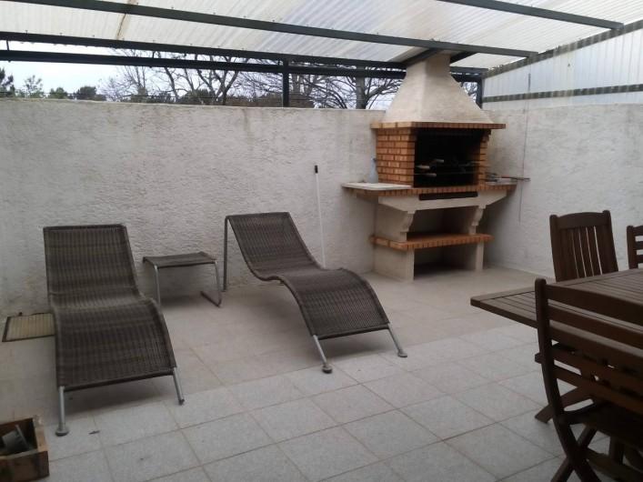 Location de vacances - Villa à Viseu - Terrasse de 100 m2 carré