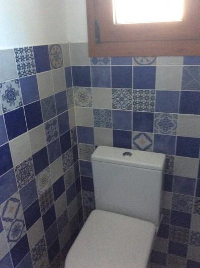 Location de vacances - Villa à Miami Platja - Toilette privée pour la deuxième chambre