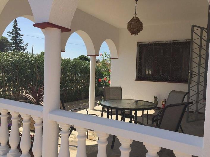 Location de vacances - Villa à Miami Platja - Exterieur avec barbecue