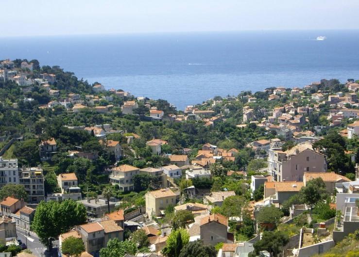 Location de vacances - Chambre d'hôtes à Marseille - Notre quartier Bompard-Roucas Blanc, un des plus beaux de Marseille.