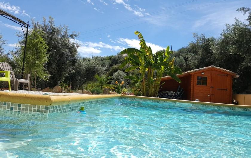 Location de vacances - Villa à Alvito da Beira - piscine