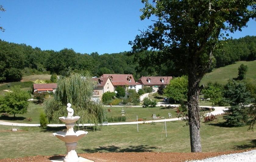 Location de vacances - Gîte à Martel - le Parc et les gîtes