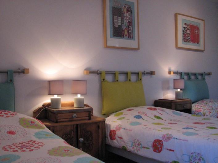 Location de vacances - Appartement à Clohars-Carnoët - la chambre de vos enfants