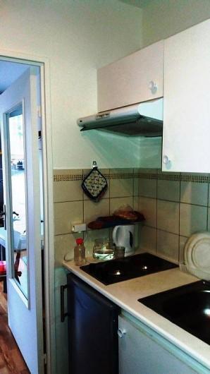 Location de vacances - Studio à 15e Arrondissement - cuisinette