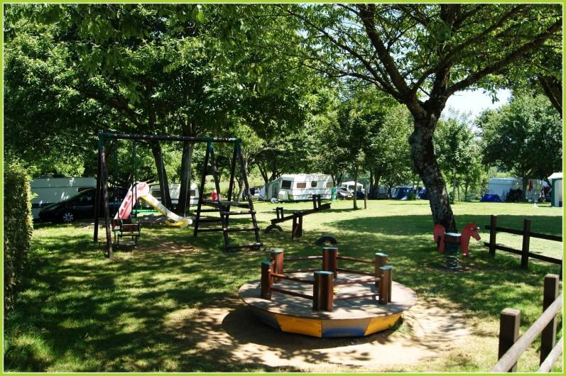 Location de vacances - Bungalow - Mobilhome à Vigeois - Jeux enfants
