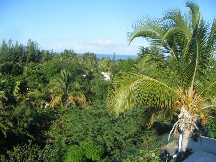 Location de vacances - Villa à La Saline-Les-Bains - Vue de la Chambre 02 - Lagon à 300m