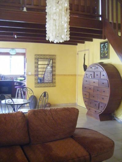 Location de vacances - Villa à La Saline-Les-Bains - Salon