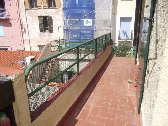 Location de vacances - Maison - Villa à Collioure - Balcon et terrasse 2