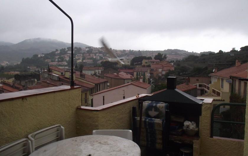 Location de vacances - Maison - Villa à Collioure - Vue terrasse 1