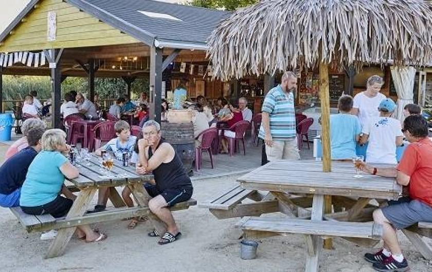 Location de vacances - Bungalow - Mobilhome à Saint-Benoît-des-Ondes - le bar-snack