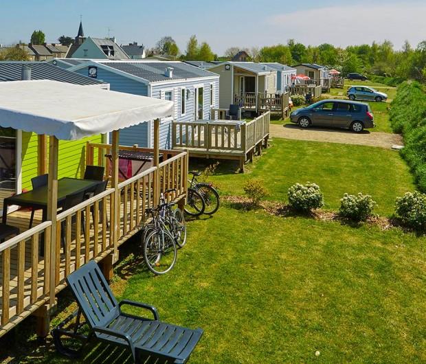 Location de vacances - Bungalow - Mobilhome à Saint-Benoît-des-Ondes - Les locations