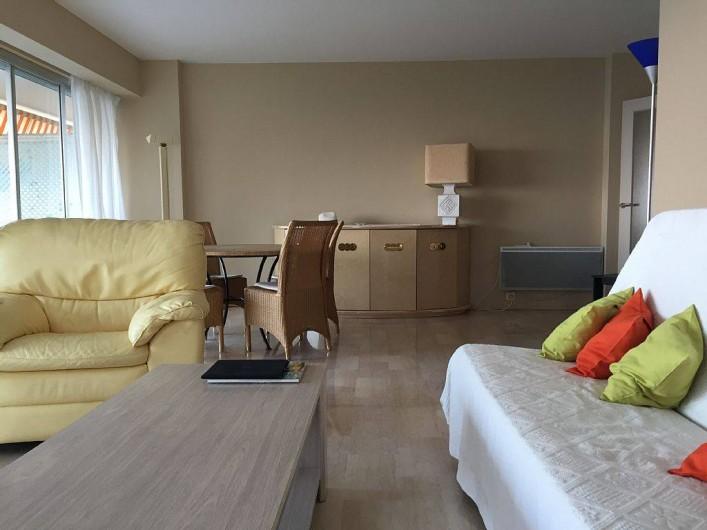 Location de vacances - Appartement à Vallauris - living